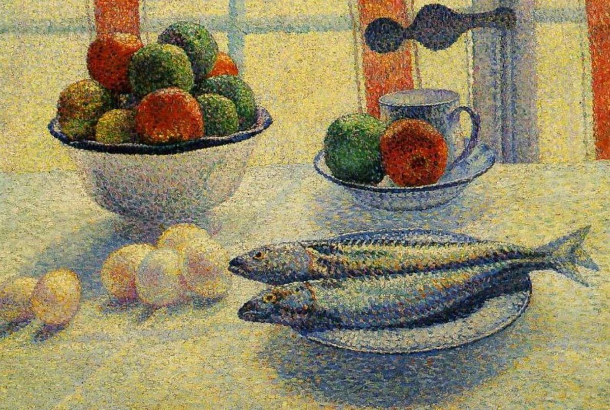 1500 Albert Dubois Pillet Still Life With Fish
